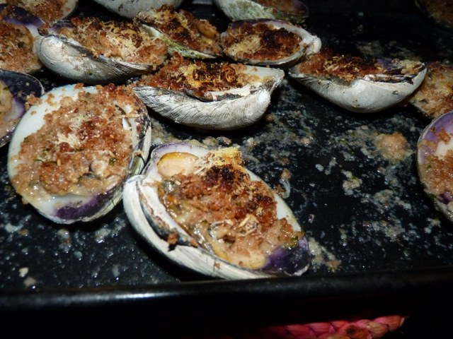 how to clean clams for baked clams
